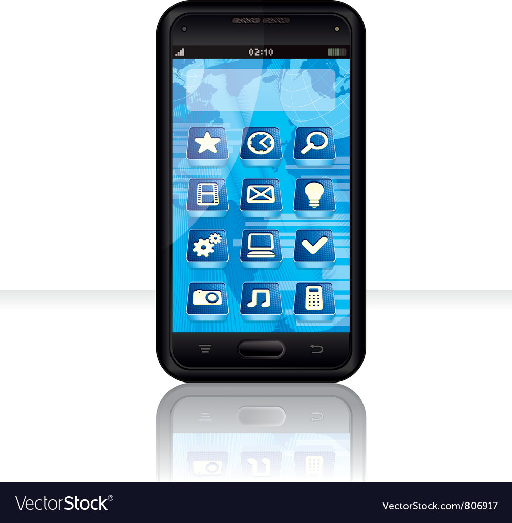 Generic smartphone vector | Price: 3 Credit (USD $3)