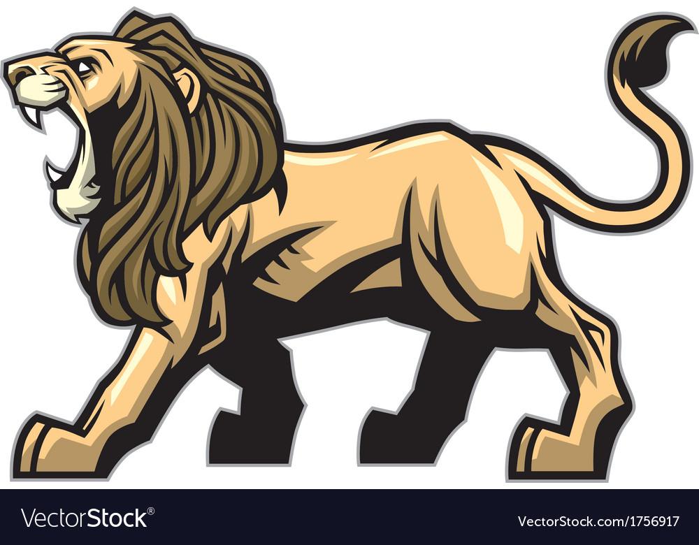 Lion mascot vector   Price: 3 Credit (USD $3)