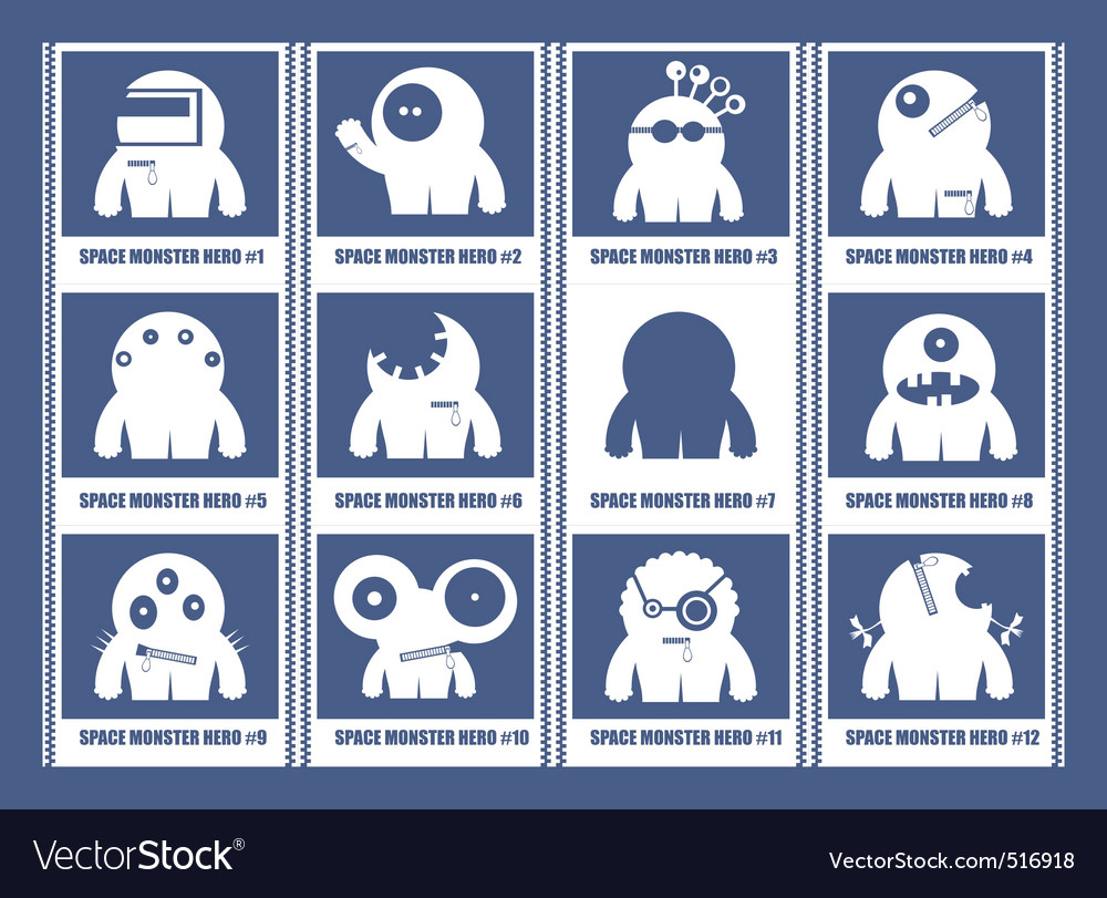 Monster hero vector | Price: 1 Credit (USD $1)