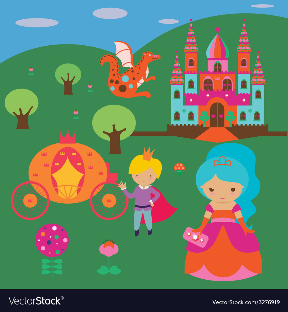 Fantasy royal story vector | Price: 1 Credit (USD $1)
