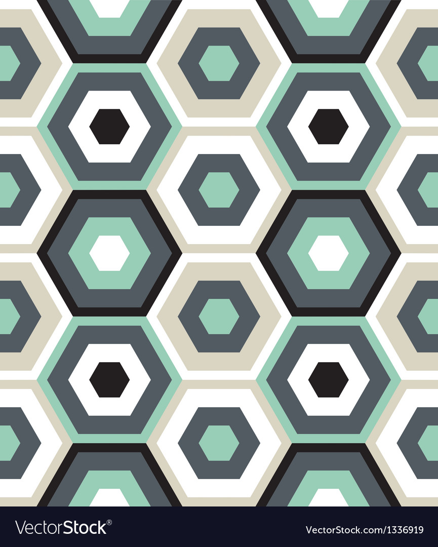 Outerspace hexagons vector | Price: 1 Credit (USD $1)
