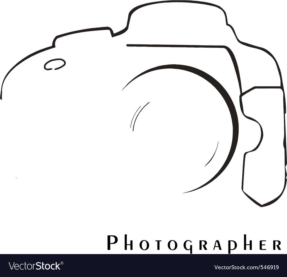 Photographer vector | Price: 1 Credit (USD $1)