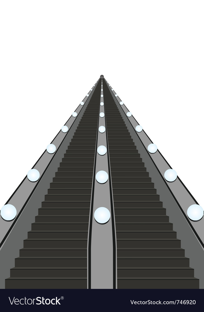 Escalator vector | Price: 1 Credit (USD $1)
