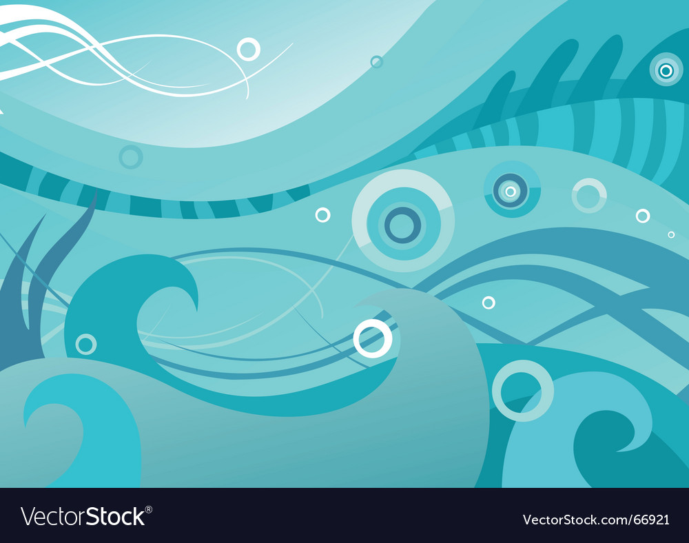 Abstract sea vector | Price: 1 Credit (USD $1)