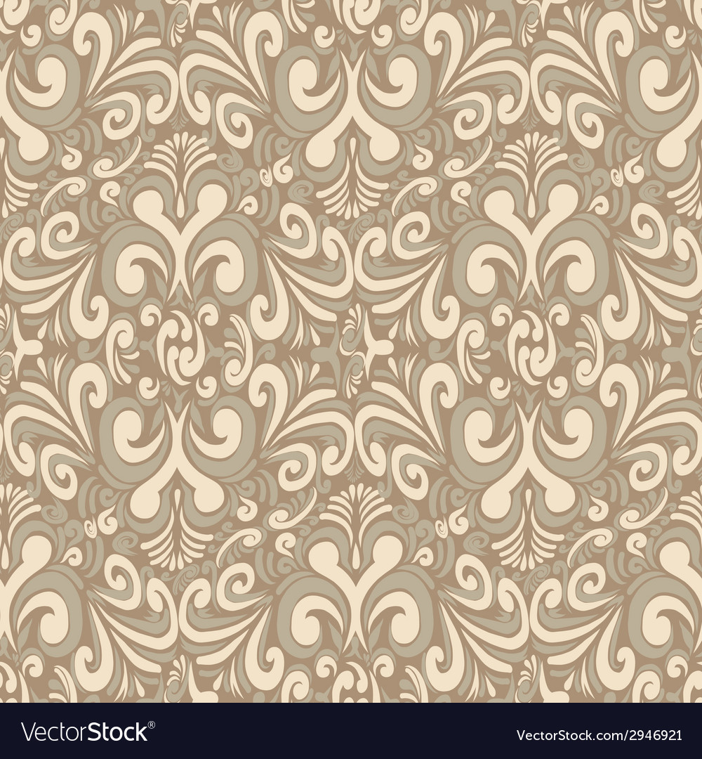 Seamless vintage light background vector | Price: 1 Credit (USD $1)