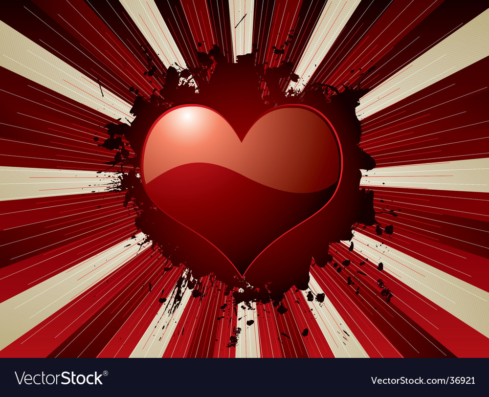 Valentine explode vector | Price: 1 Credit (USD $1)