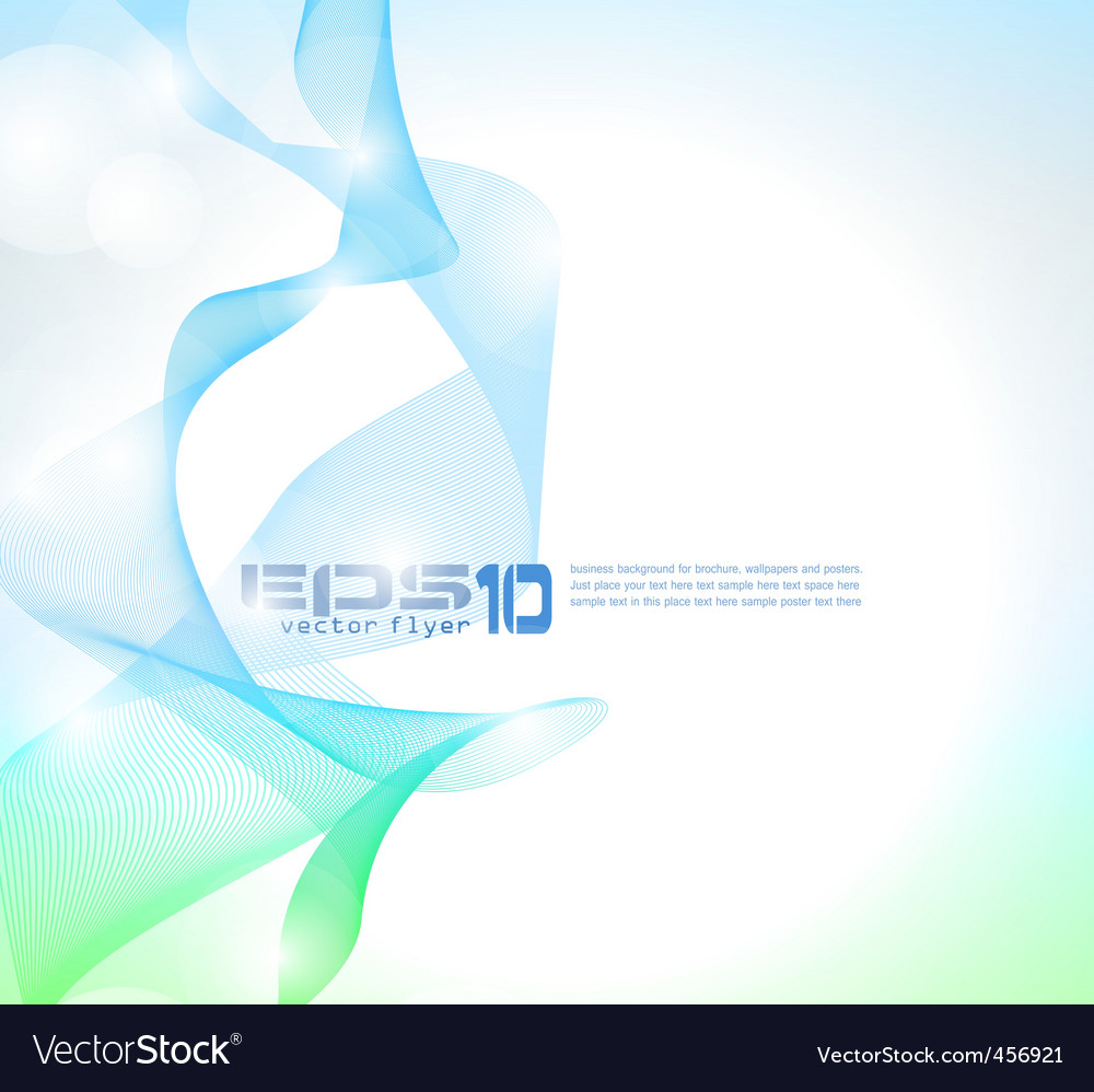 Wave of lights business wallpaper vector   Price: 1 Credit (USD $1)