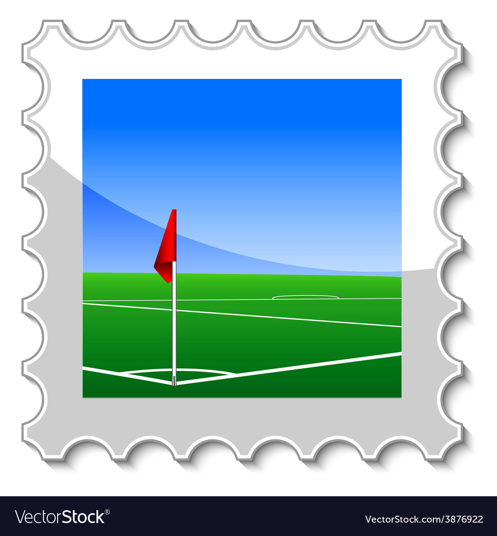 Corner kick vector | Price: 1 Credit (USD $1)