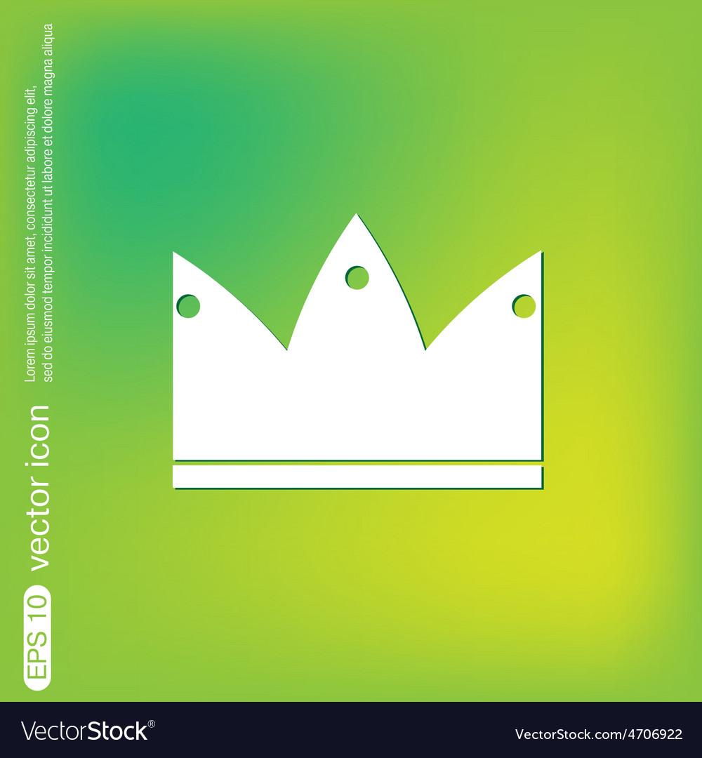 Crown icon vector | Price: 1 Credit (USD $1)