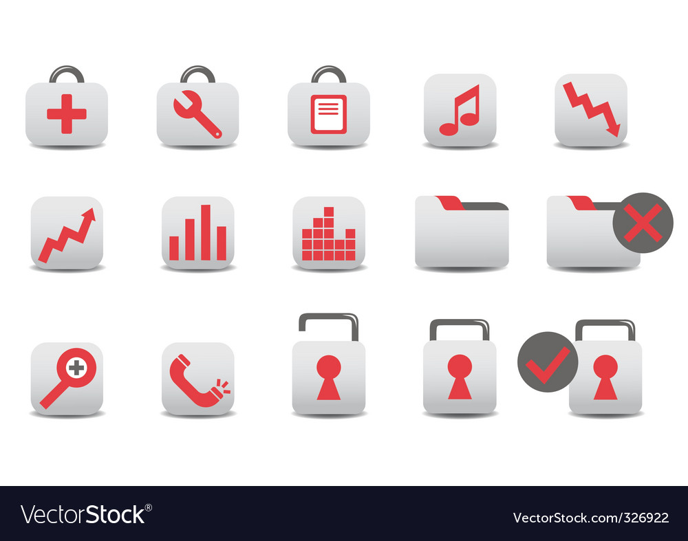 Professional icons vector | Price: 1 Credit (USD $1)