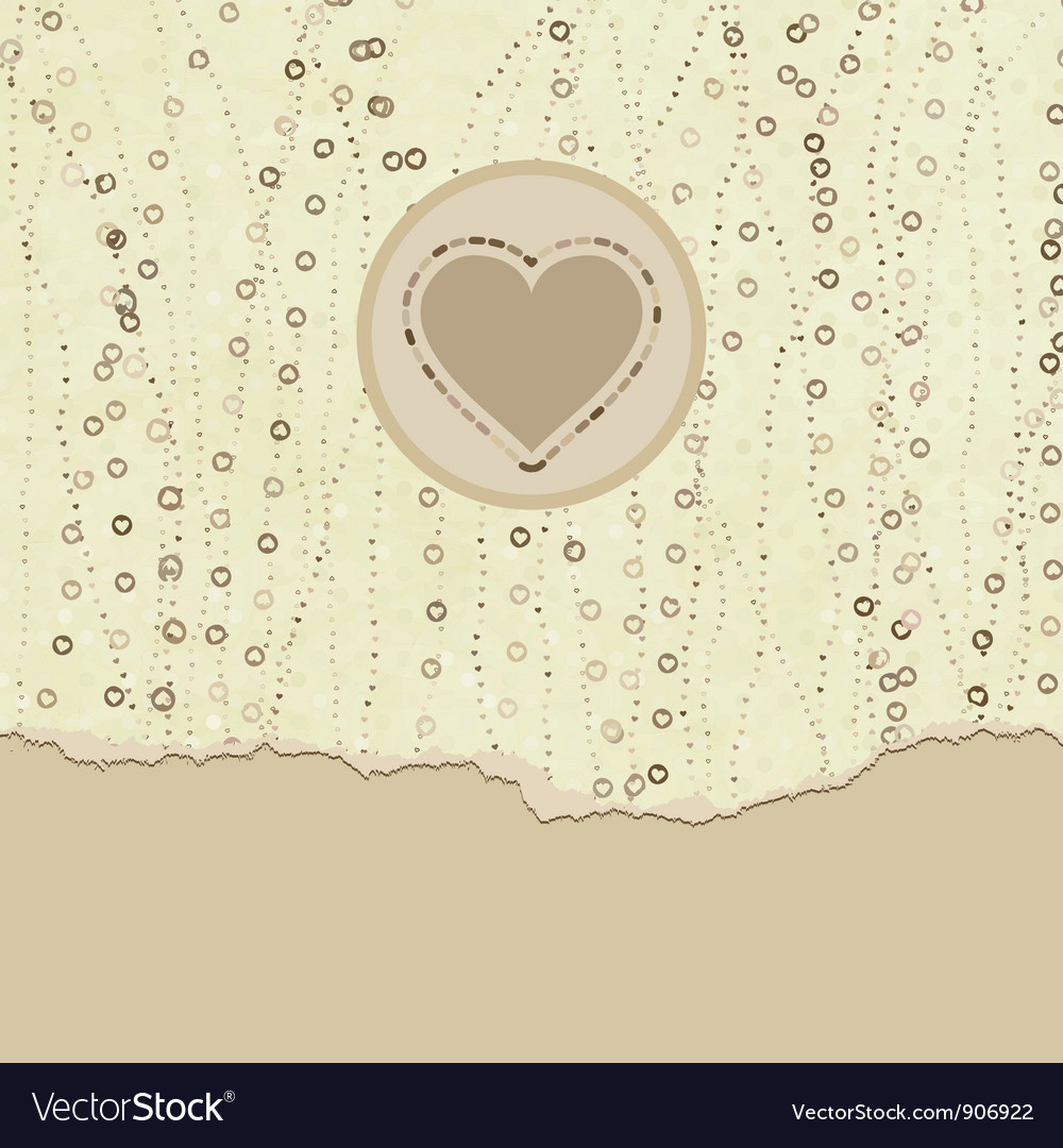 Valentine hearts card vector   Price: 1 Credit (USD $1)