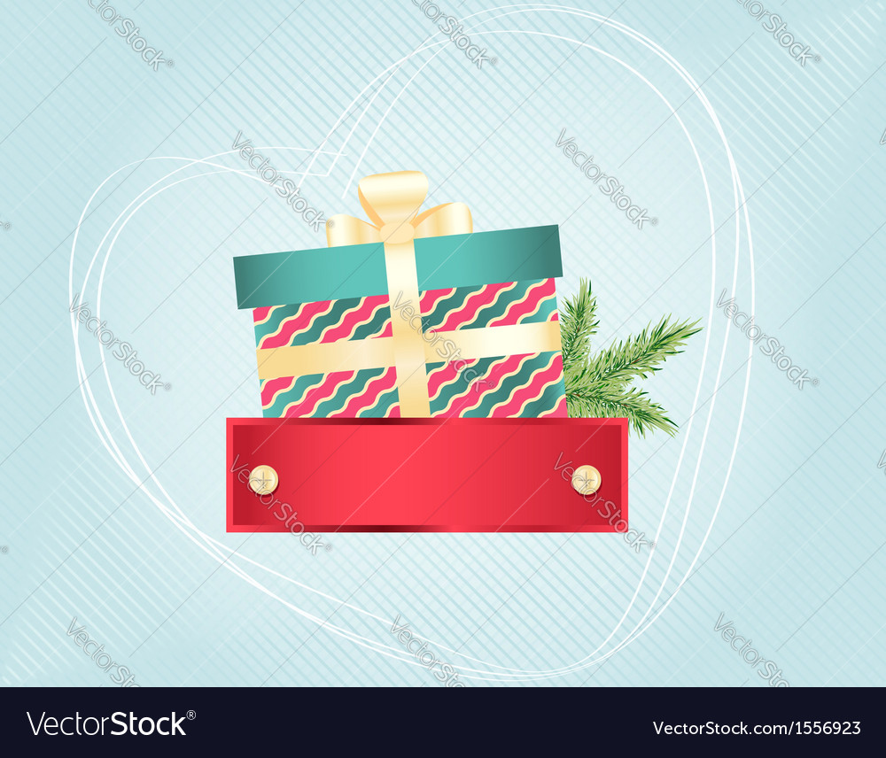 Colourful christmas and new years card vector | Price: 1 Credit (USD $1)