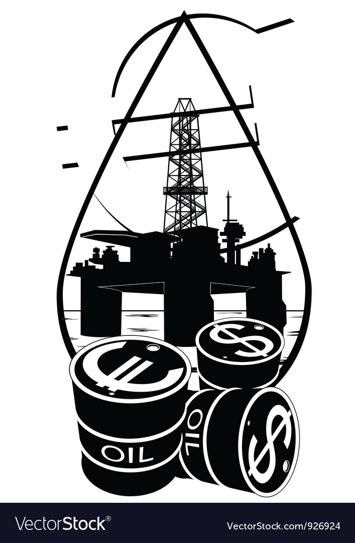 Sales of petroleum products vector | Price: 1 Credit (USD $1)