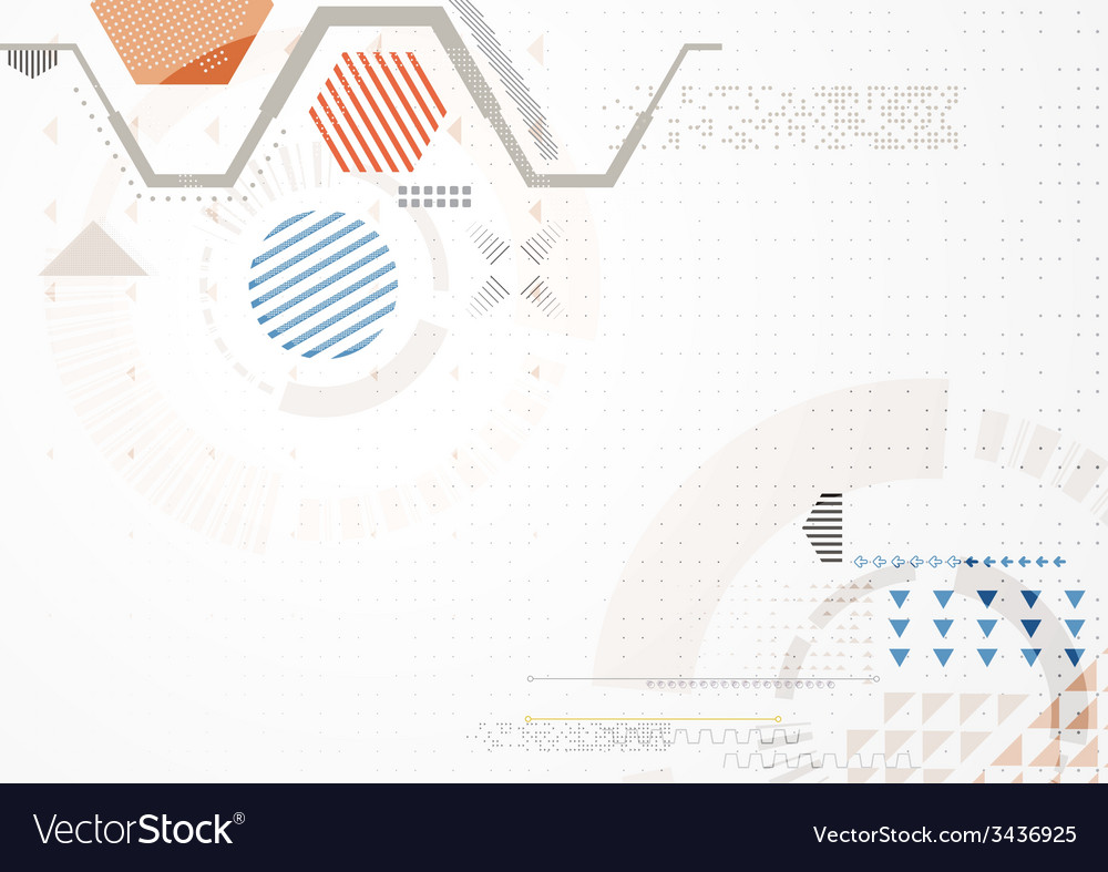 Abstract futuristic business background vector | Price: 1 Credit (USD $1)