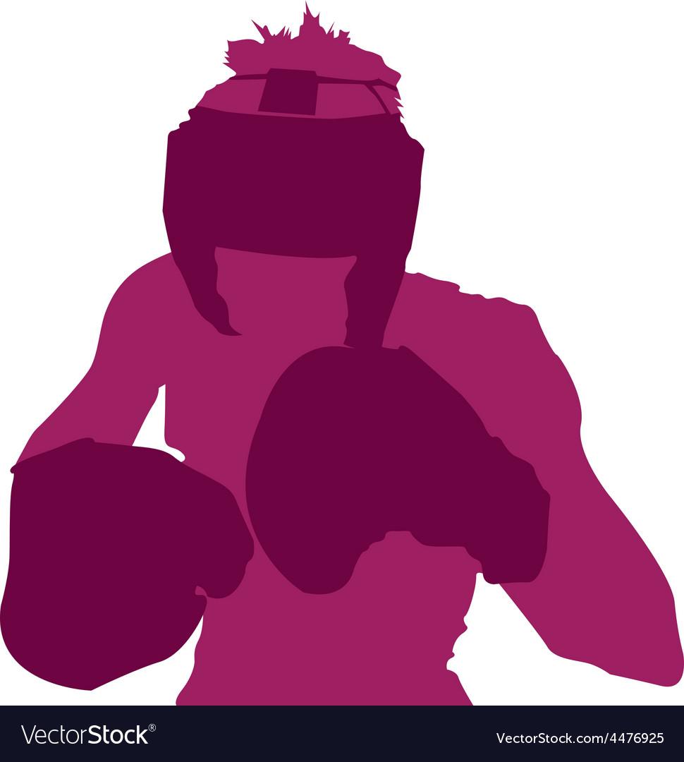 Boxer design vector | Price: 1 Credit (USD $1)