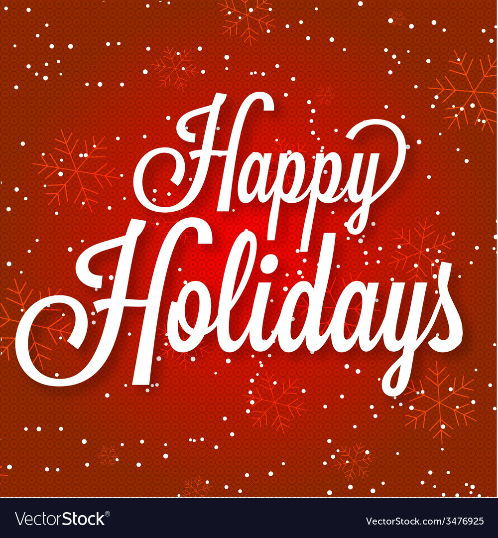 Happy holidays on abstract vector | Price: 1 Credit (USD $1)