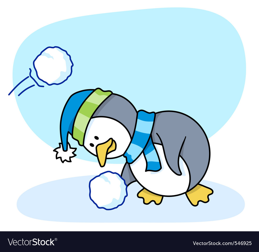 Little penguin 2 vector | Price: 1 Credit (USD $1)