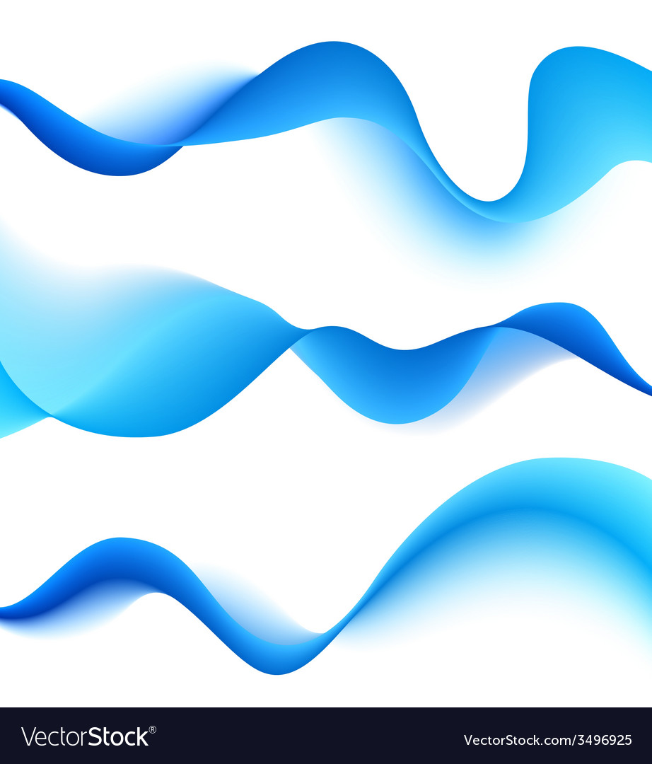 Set of blend waves vector | Price: 1 Credit (USD $1)