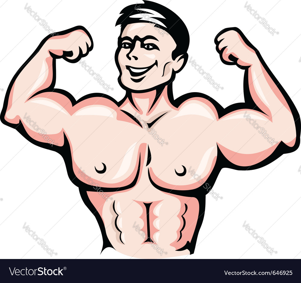 Strong athlete vector | Price: 3 Credit (USD $3)