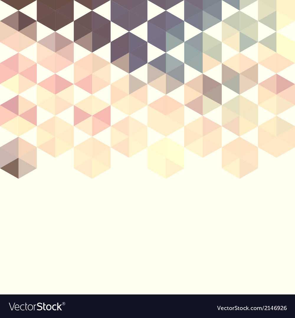 Abstract background with green hexagons vector | Price: 1 Credit (USD $1)