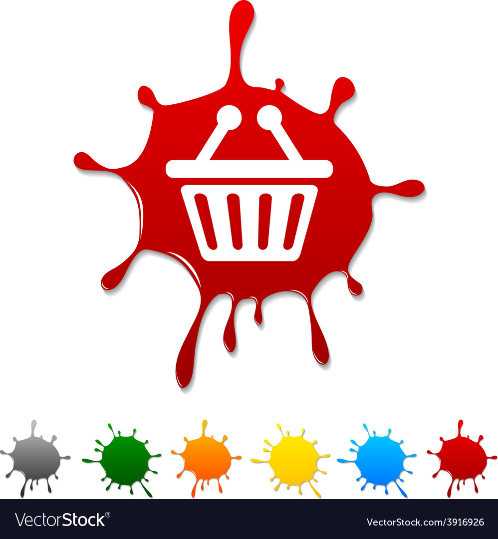 Shopping blot vector | Price: 1 Credit (USD $1)