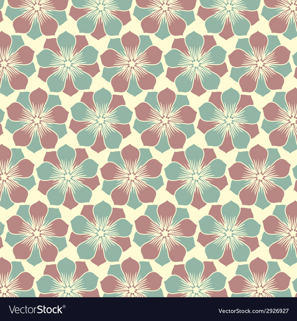 Abstract seamless pattern - art nouveau vector | Price: 1 Credit (USD $1)