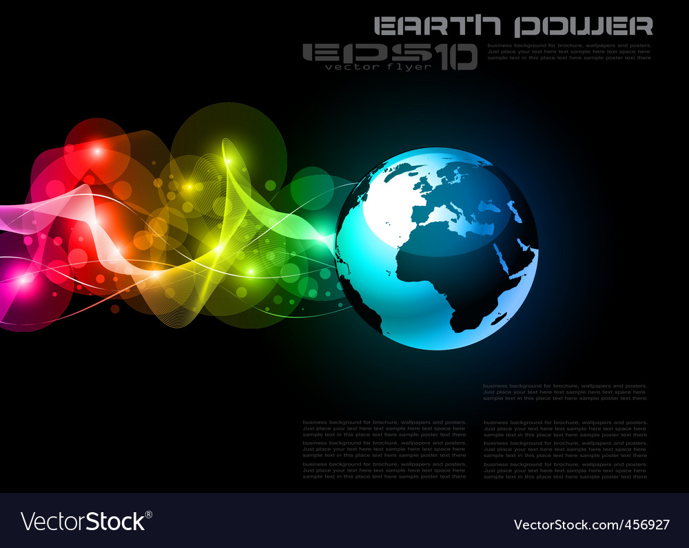 Concept earth planet vector | Price: 1 Credit (USD $1)