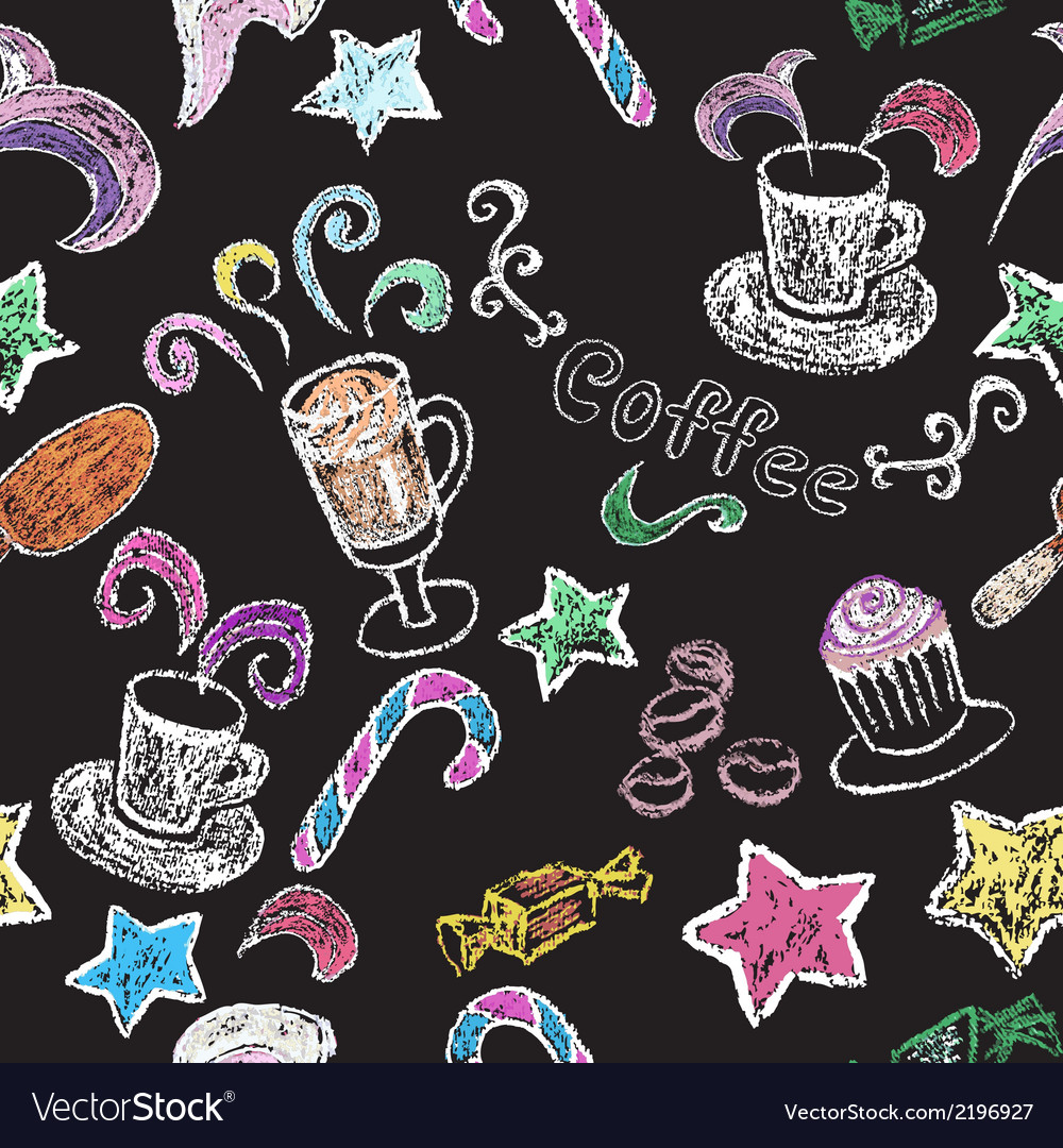 Hand drawn restaurant menu elements vector | Price: 1 Credit (USD $1)
