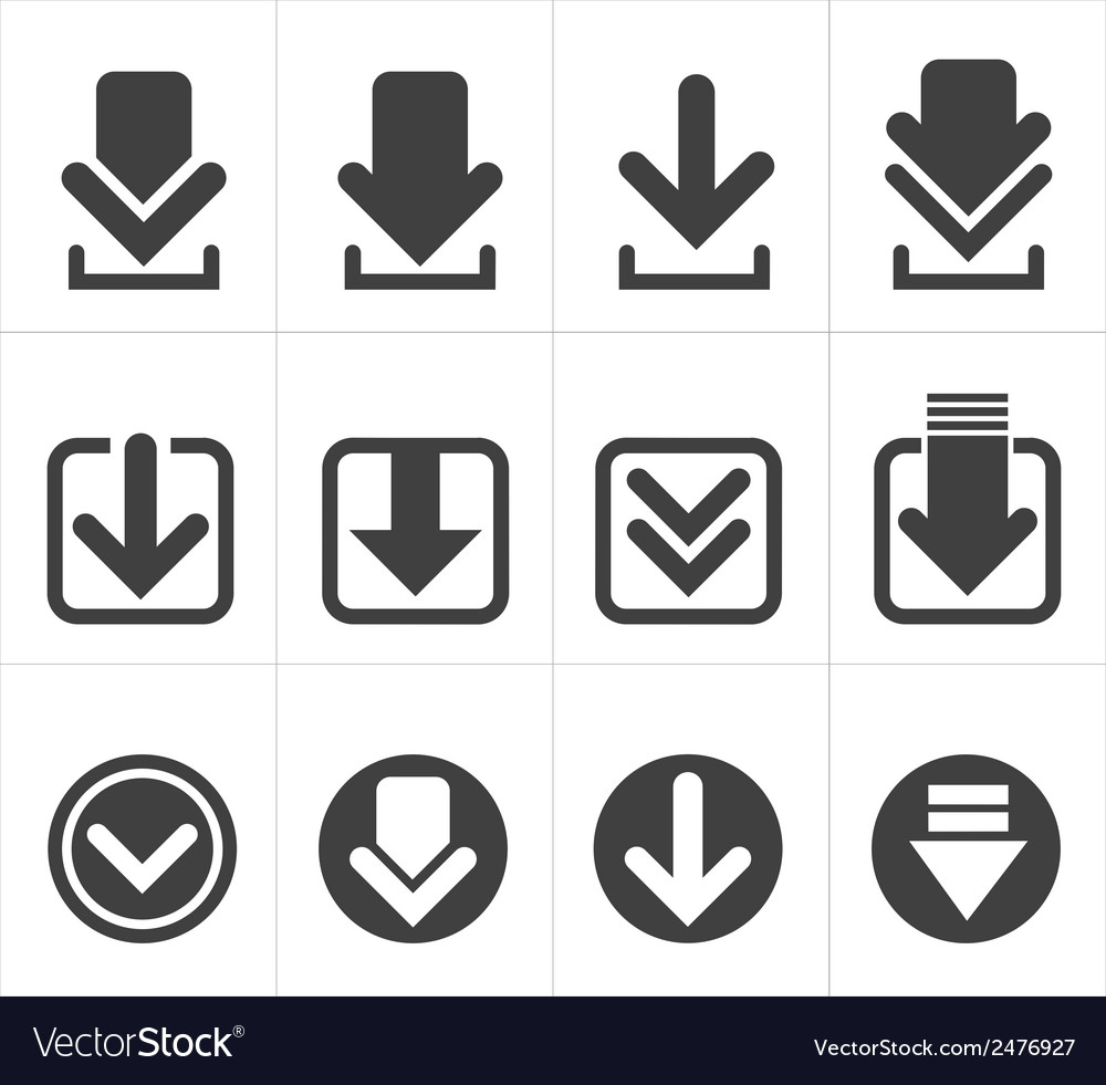Icon download vector | Price: 1 Credit (USD $1)