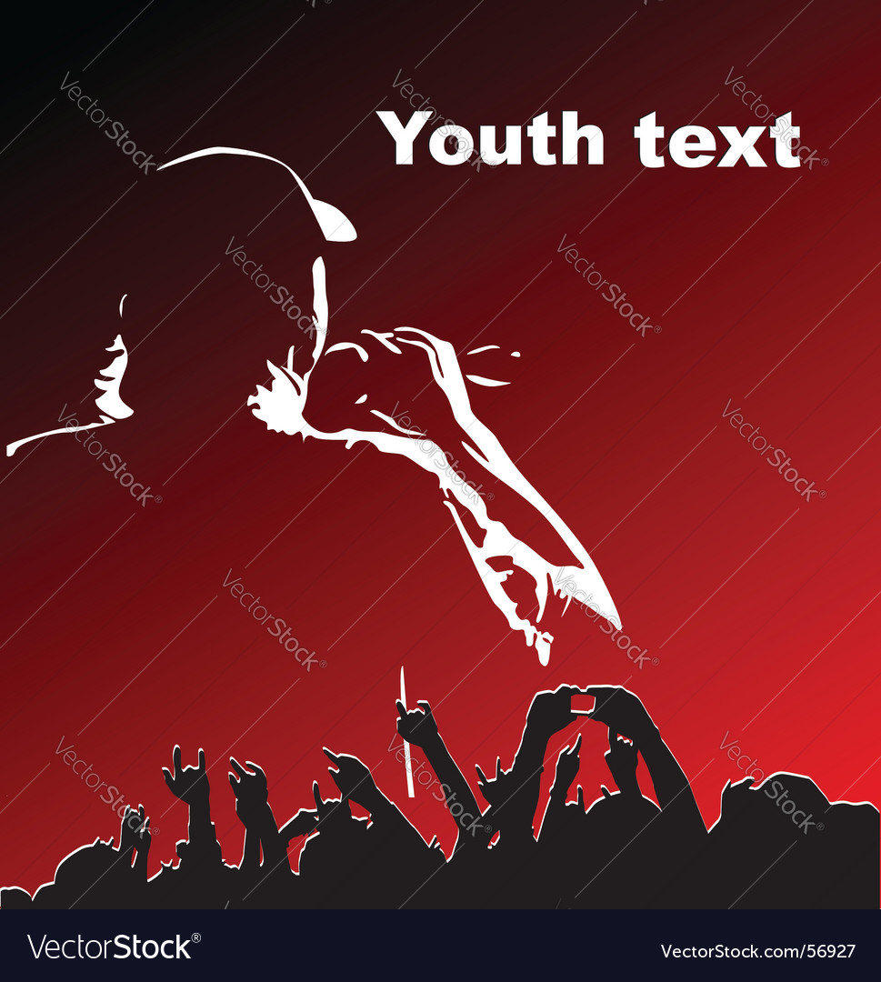 Youth party vector | Price: 1 Credit (USD $1)