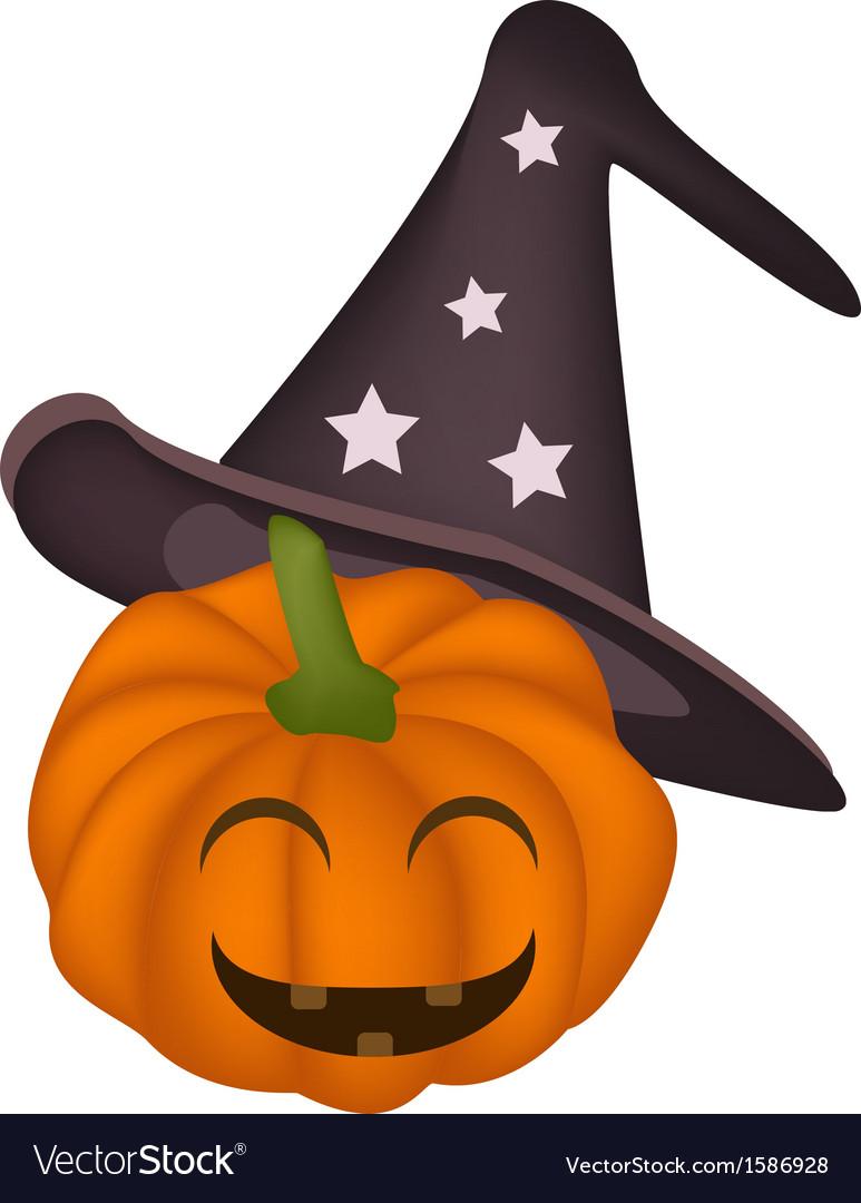 A happy jack-o-lantern pumpkin vector | Price: 1 Credit (USD $1)