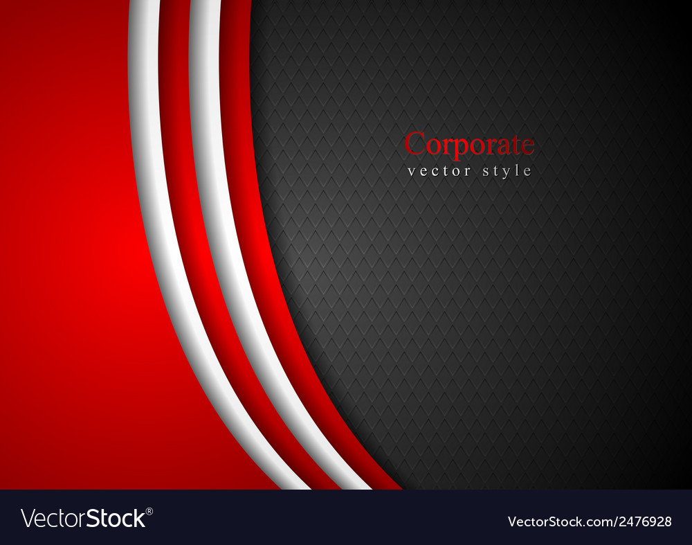 Abstract dark corporate background vector | Price: 1 Credit (USD $1)
