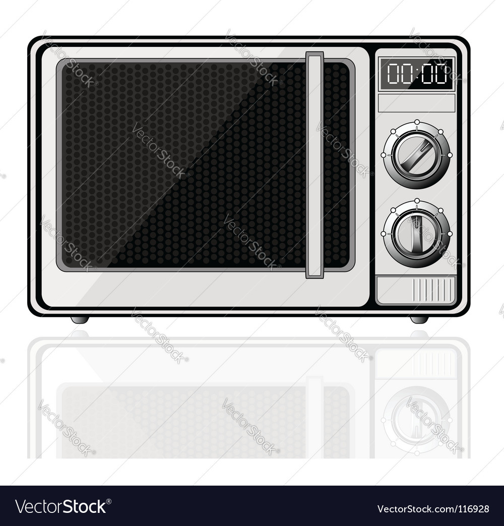 Microwave vector | Price: 1 Credit (USD $1)
