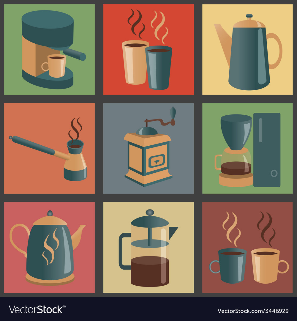 Coffee icon 1 vector | Price: 1 Credit (USD $1)