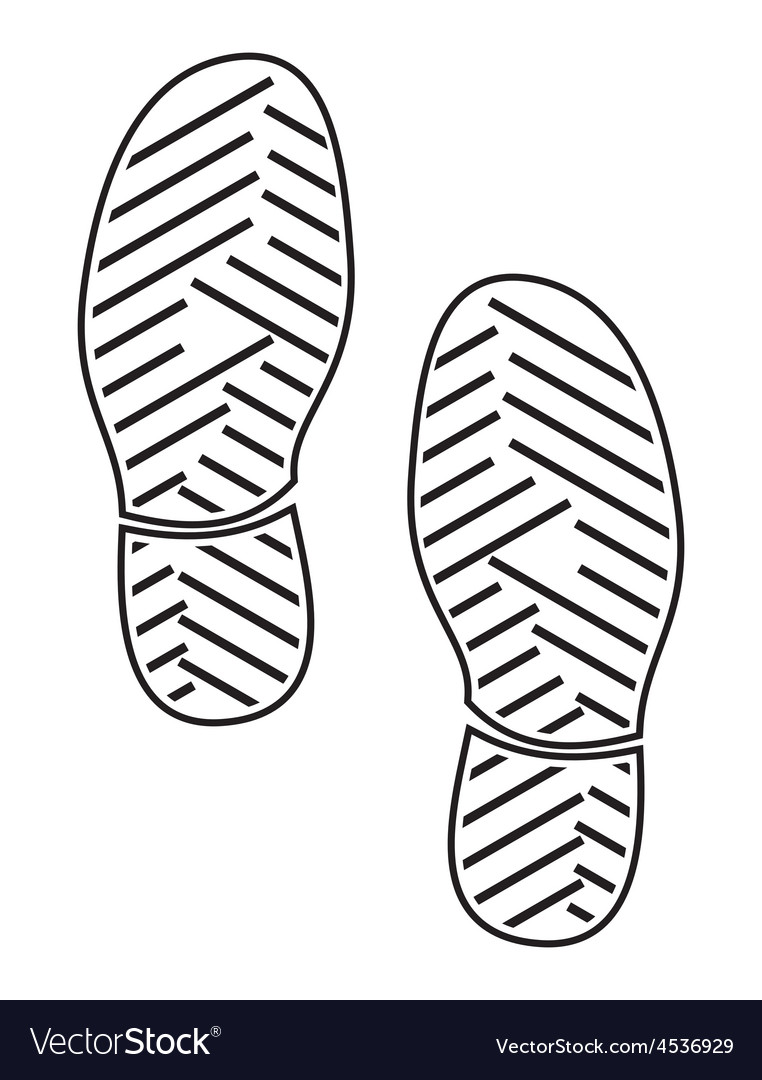 New foot print4 resize vector | Price: 1 Credit (USD $1)