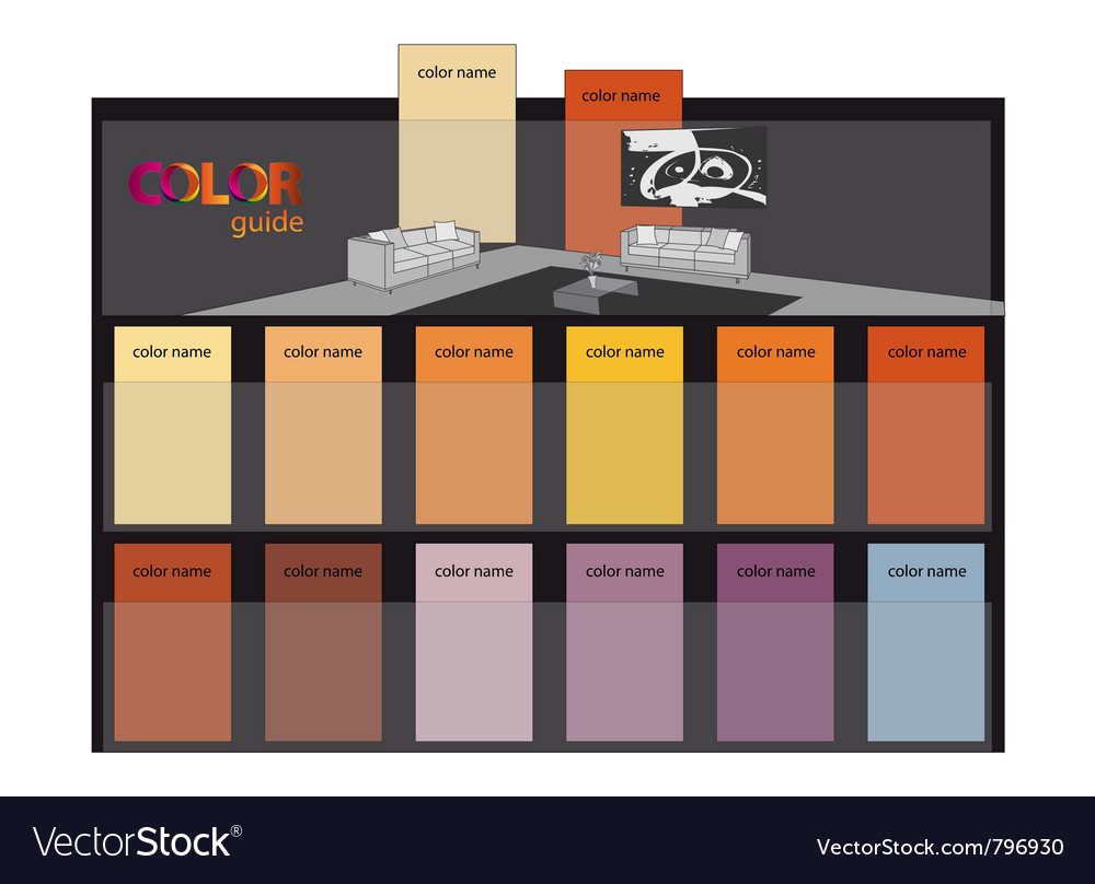 Color guide - template vector | Price: 1 Credit (USD $1)