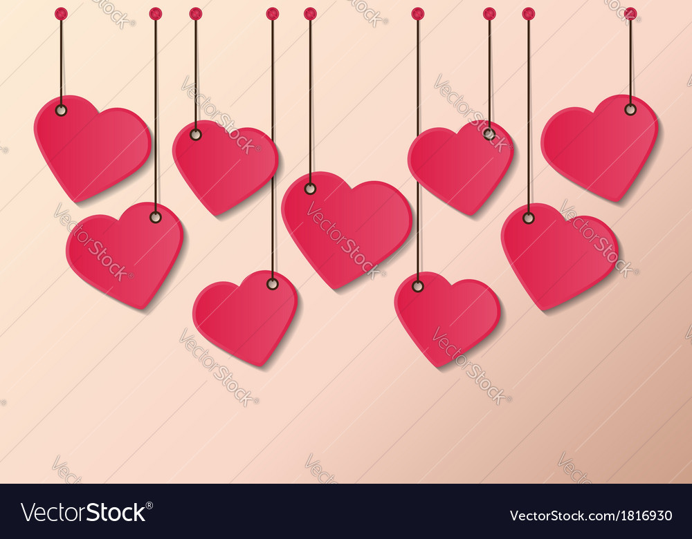 Heart tag vector   Price: 1 Credit (USD $1)