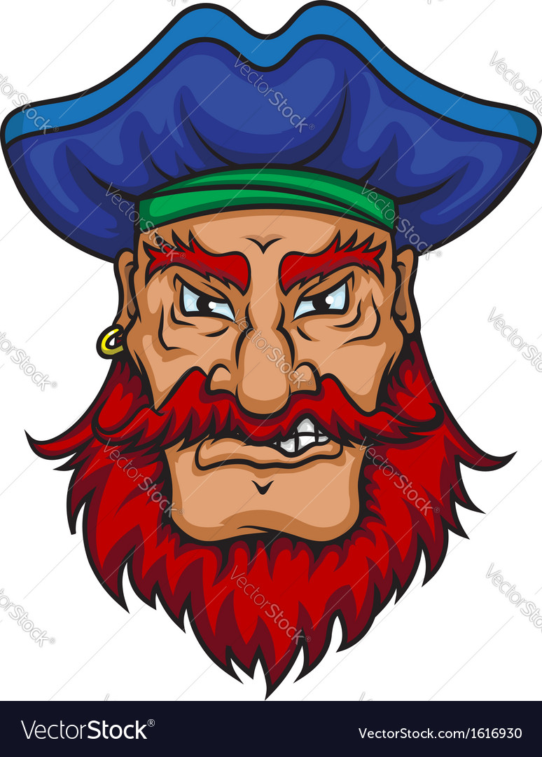 Old pirate captain vector | Price: 1 Credit (USD $1)