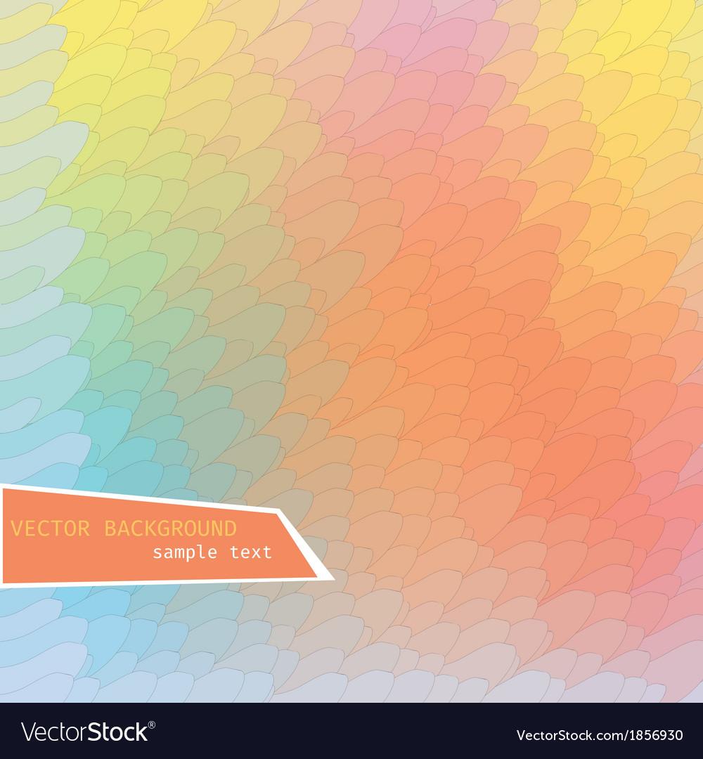 Rainbow geometric background vector | Price: 1 Credit (USD $1)