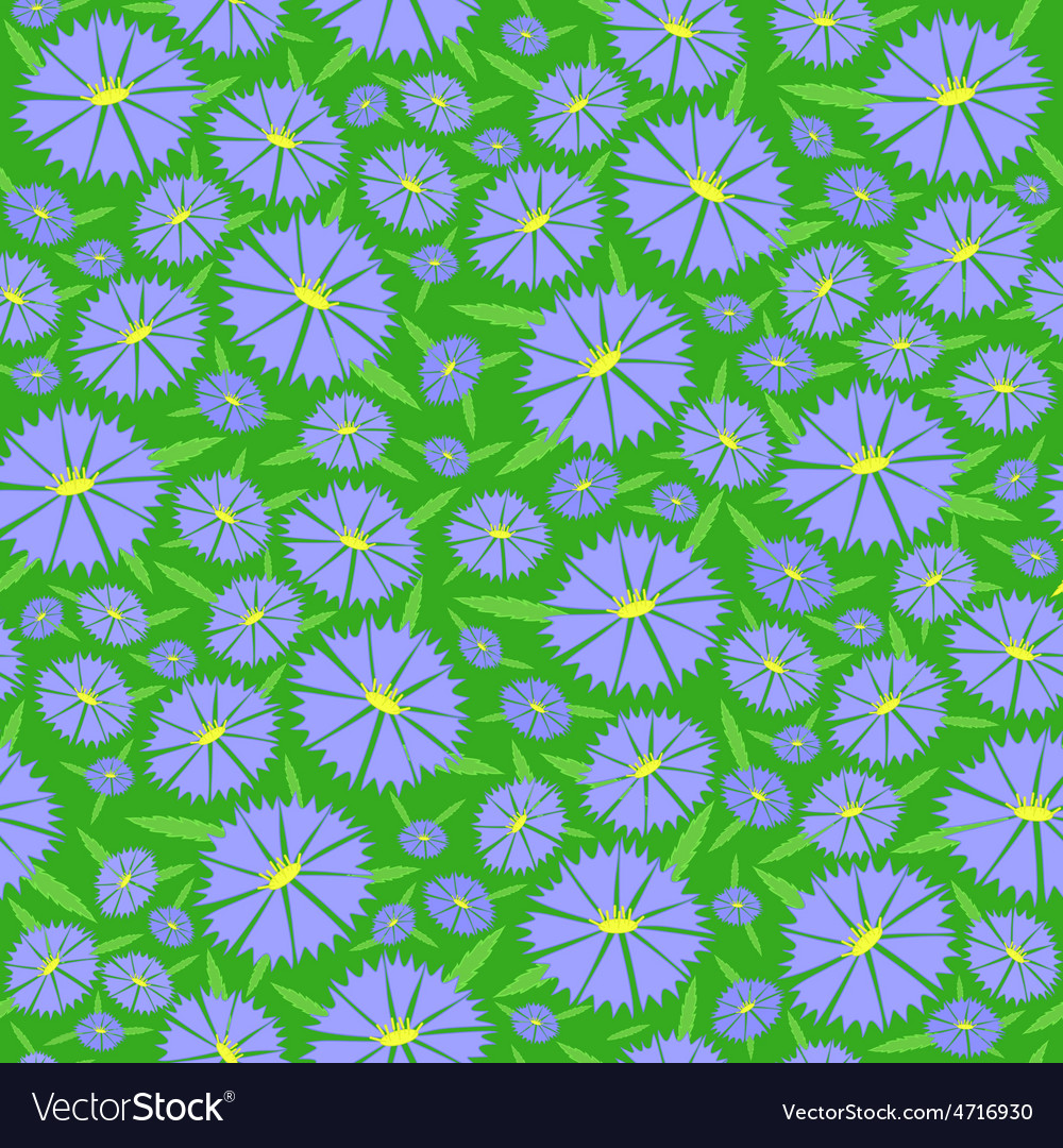 Seamless texture of the flowers vector | Price: 1 Credit (USD $1)