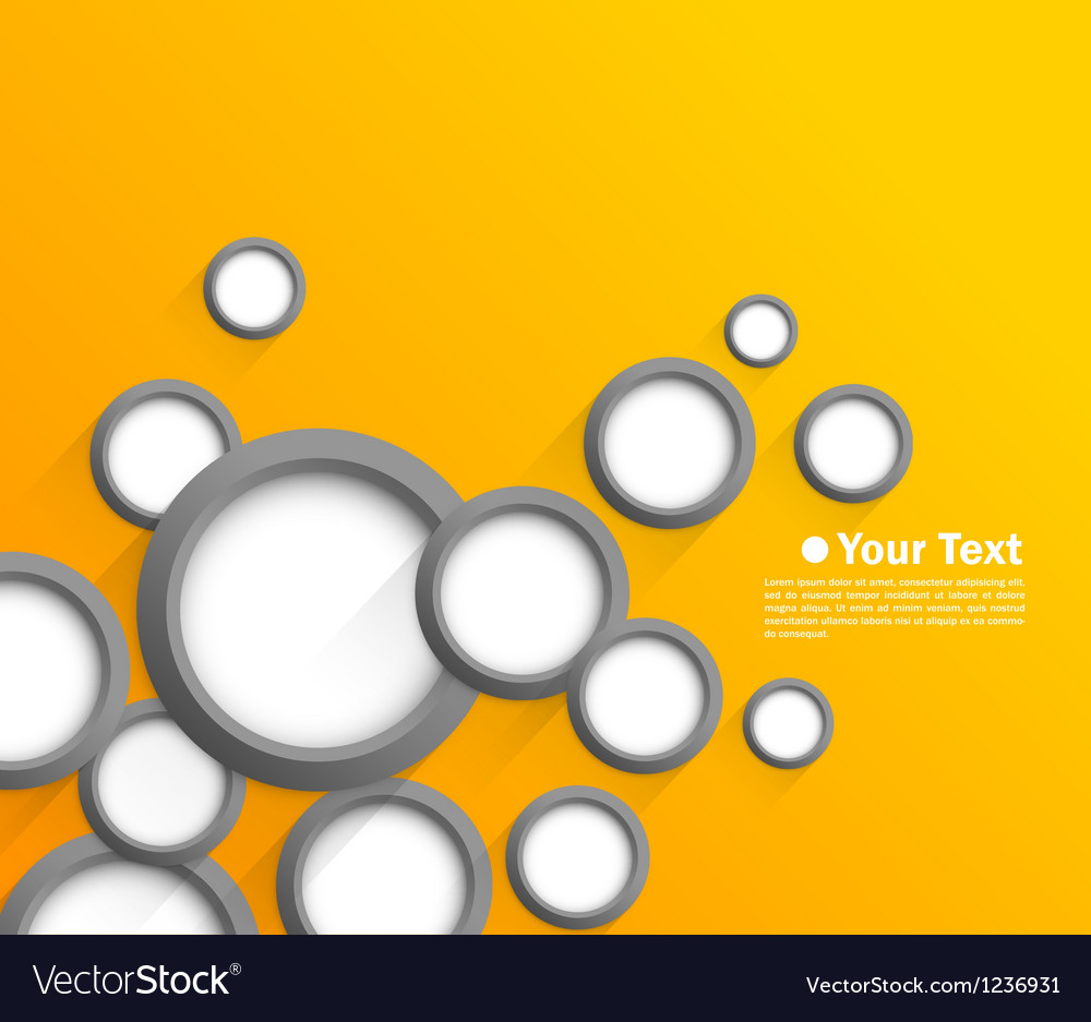 Abstract background with gray circles vector | Price: 1 Credit (USD $1)