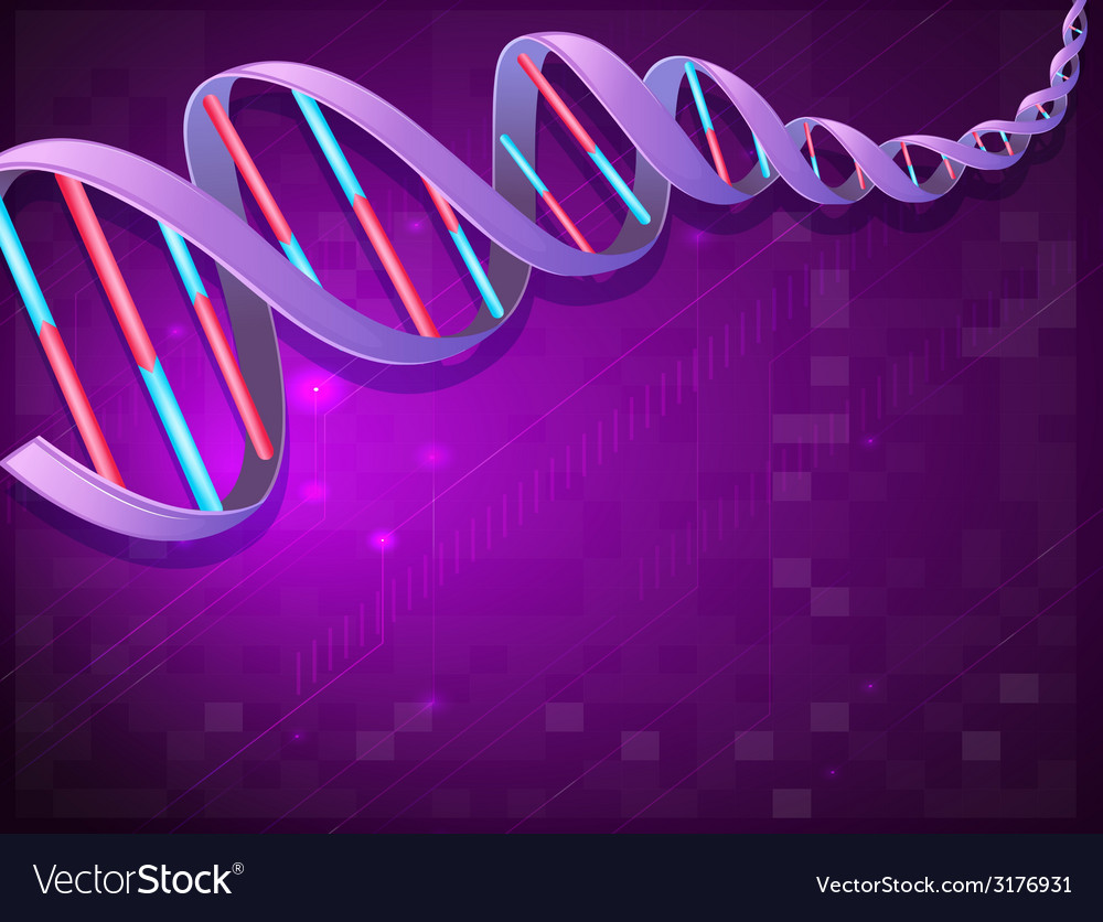 An image of a dna vector | Price: 1 Credit (USD $1)