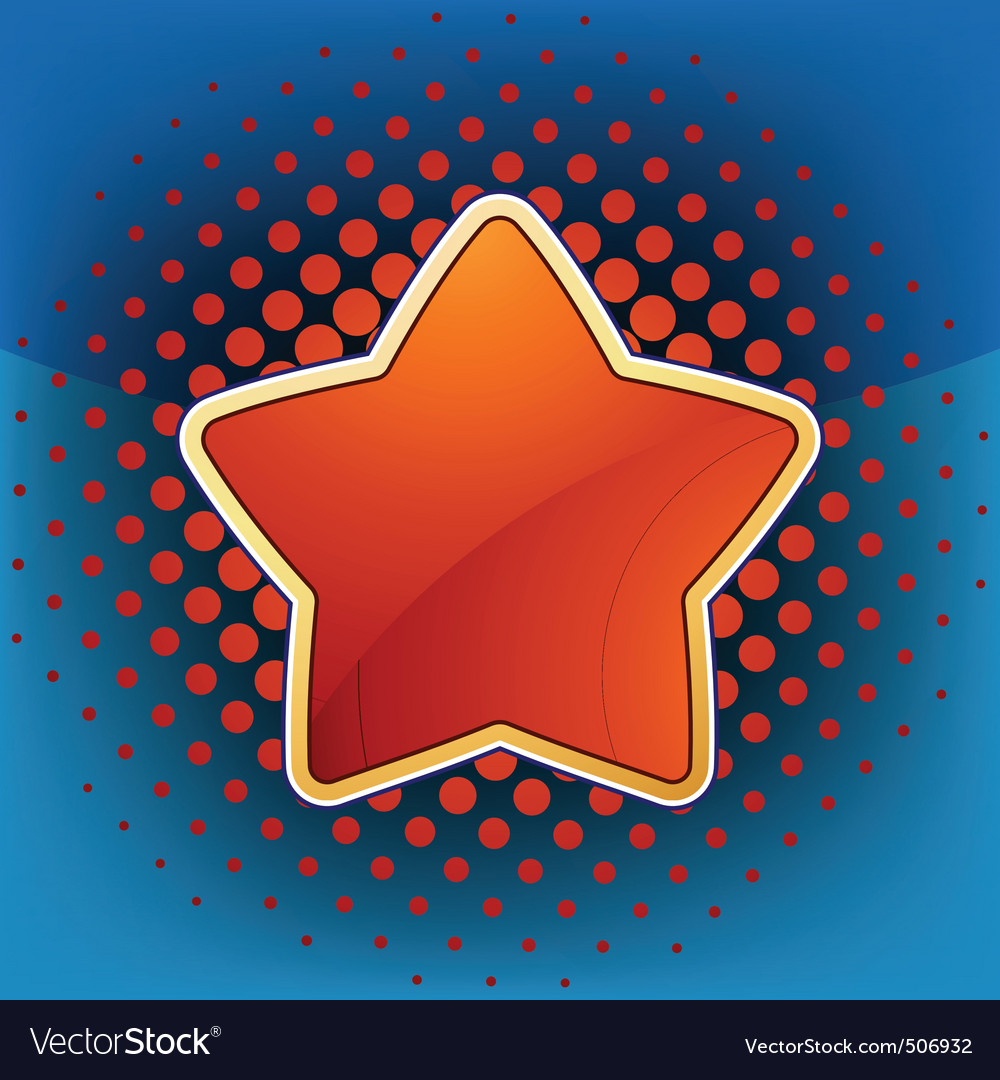 Abstract star web and print template eps 8 vector | Price: 1 Credit (USD $1)