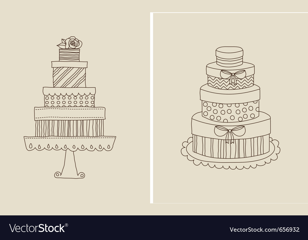 Cake and giflts vector | Price: 1 Credit (USD $1)