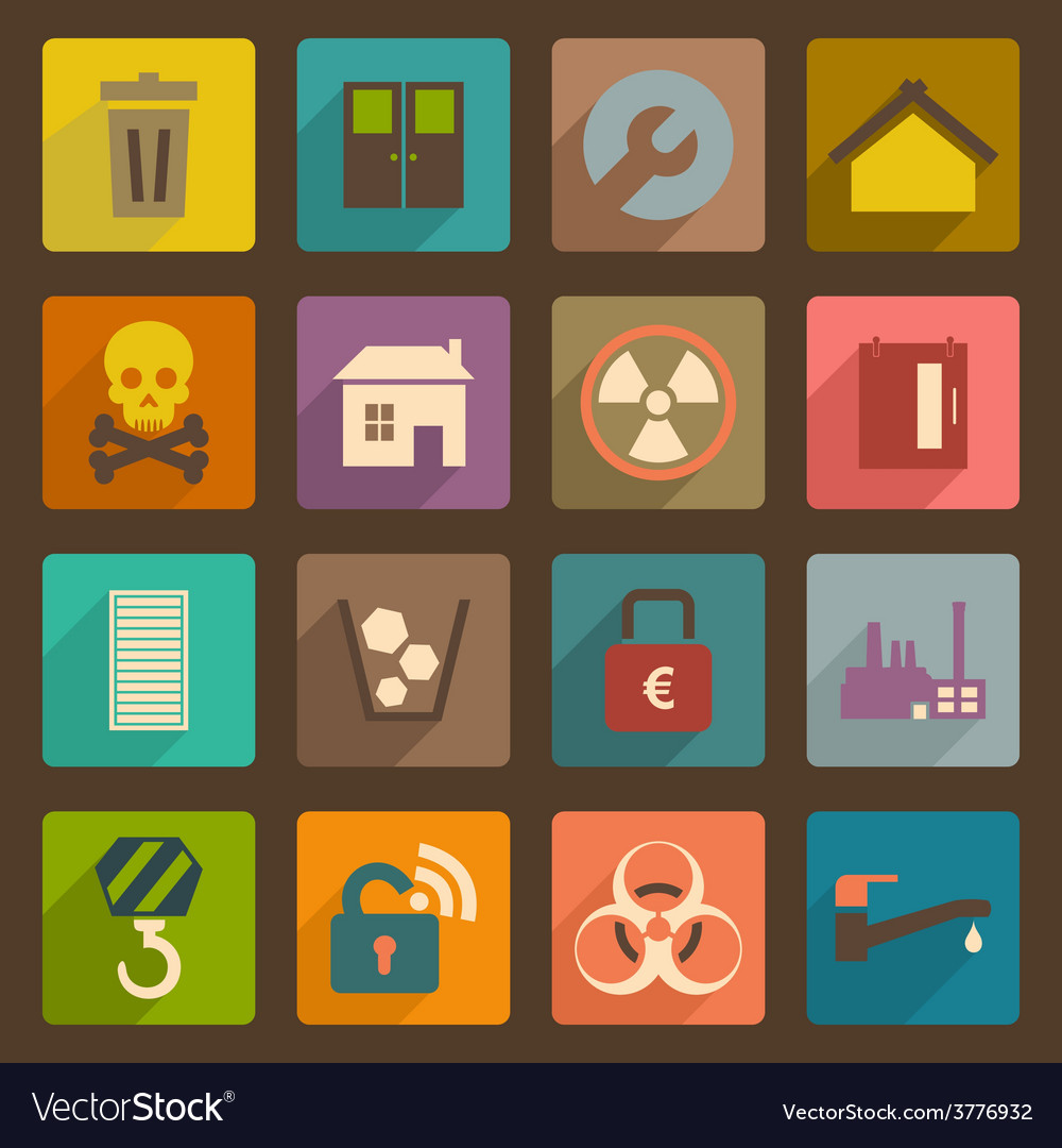 Flat icon3 vector | Price: 1 Credit (USD $1)