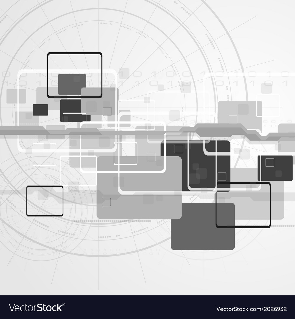 Hi-tech design vector | Price: 1 Credit (USD $1)