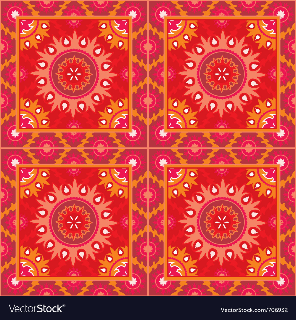 Oriental style seamless vector | Price: 1 Credit (USD $1)