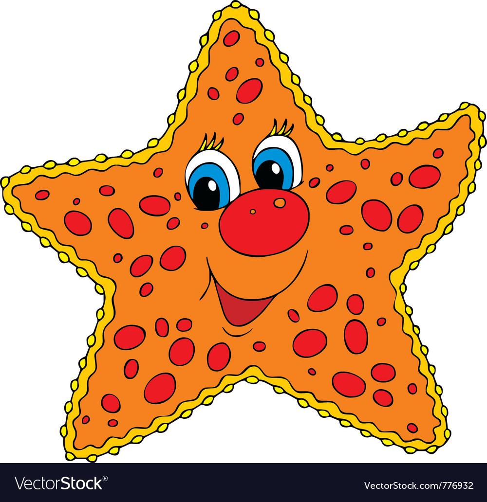 Starfish vector | Price: 3 Credit (USD $3)