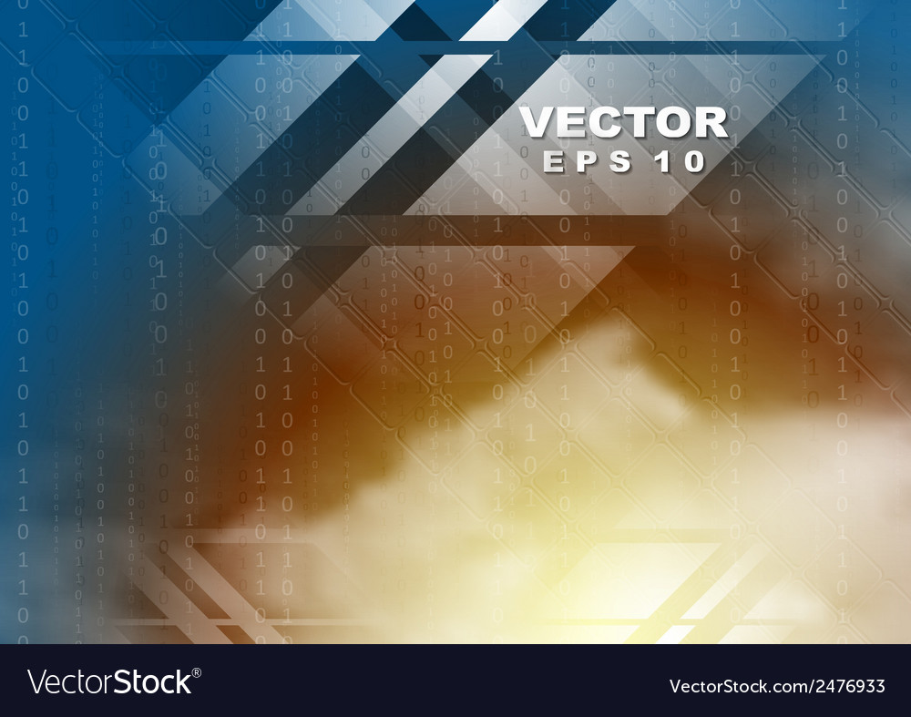 Abstract bright tech background vector | Price: 1 Credit (USD $1)