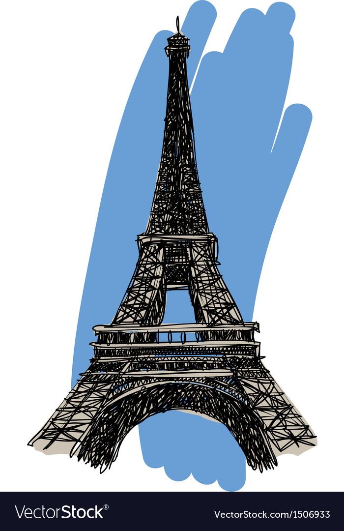 Eiffel tower vector   Price: 3 Credit (USD $3)
